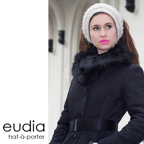 Eudia headband Bardot hat a porter collection, handmade hats Amsterdam Den Haag