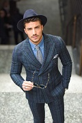 Mens hat style guide - Blogger mariano di vaio with fedora hat
