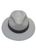 Eudia handmade hats | Fedora Hat Don Vito grey