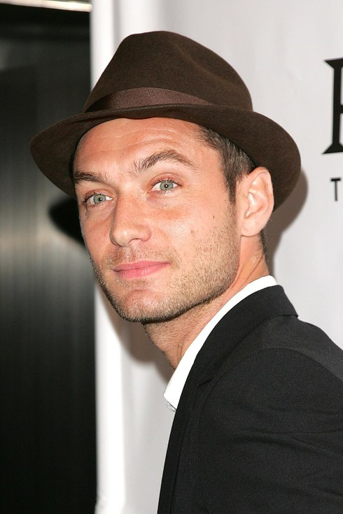 Jude Law with trilby